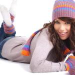 Перчатки и шарфы Girls love shopping